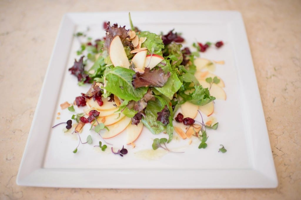 A salad from Potomac Point