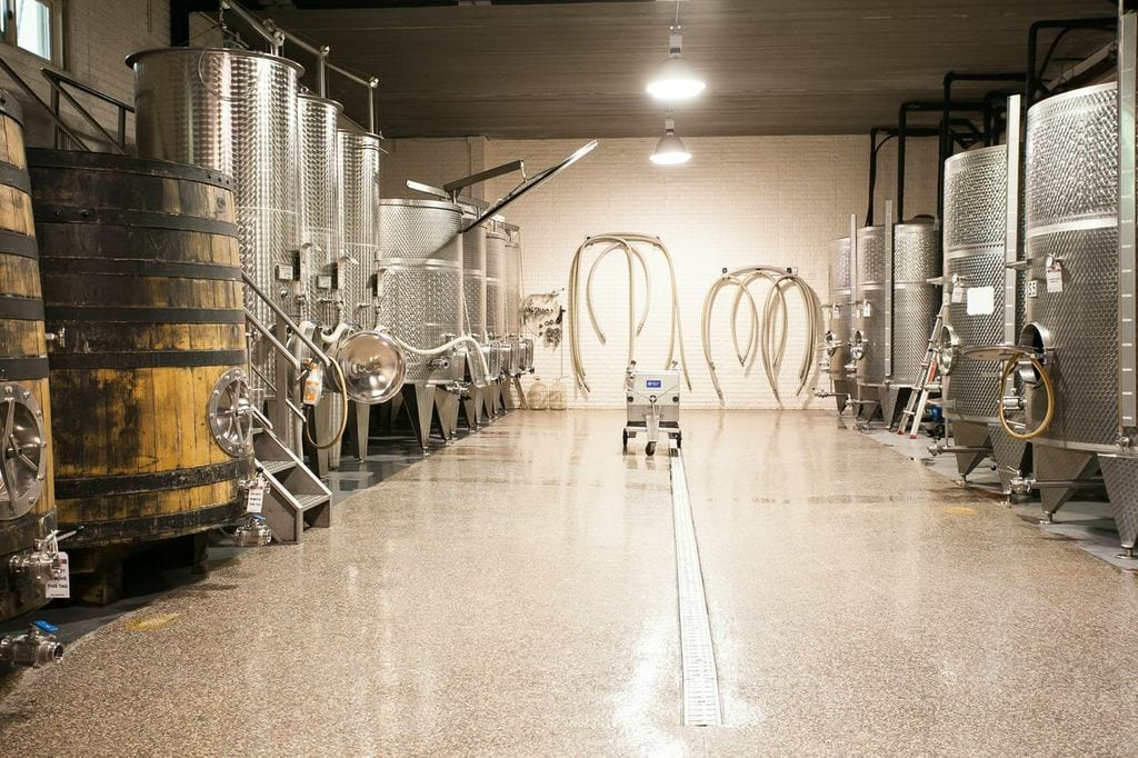Winery Tour at Potomac Point Winery