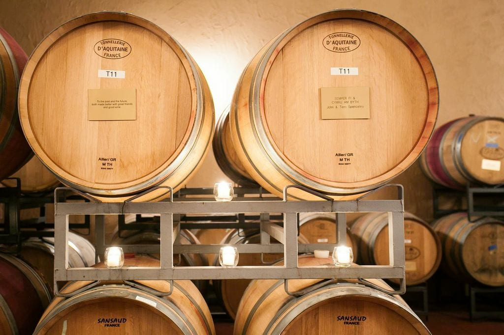 Barrel Room detail