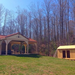 New Roostrooms at the picnic pavilion