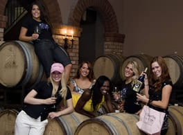 Women Wild About Wine
