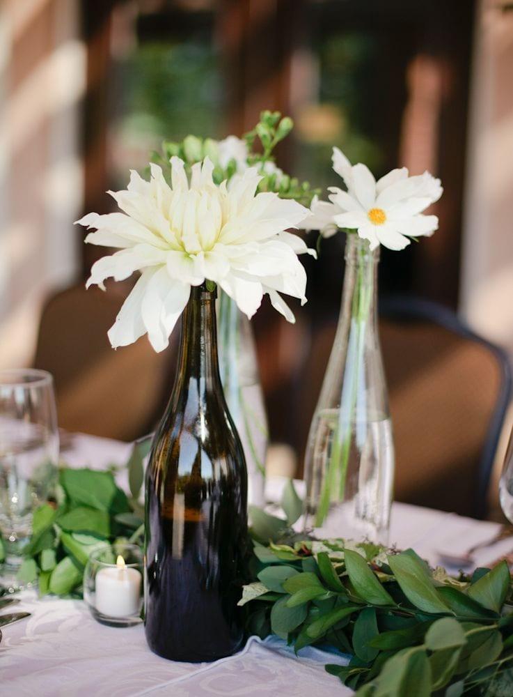 Wine Bottle Vases Potomacpointwinery