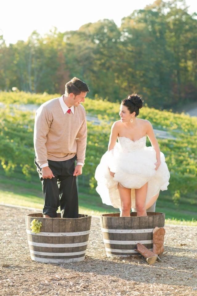 Rustic Vineyard Wedding Shoot Potomac Point Winery