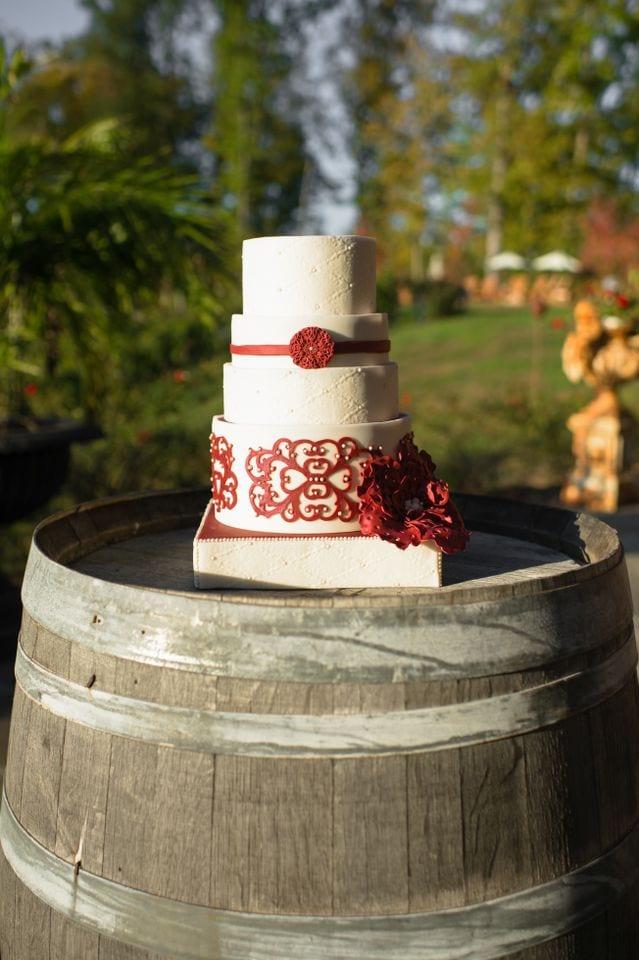 How To Make Wedding Cake Pieces