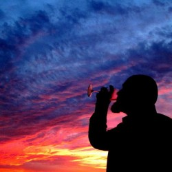 Sunset sip