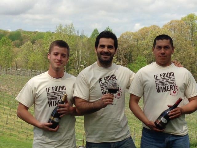 vineyard team close up