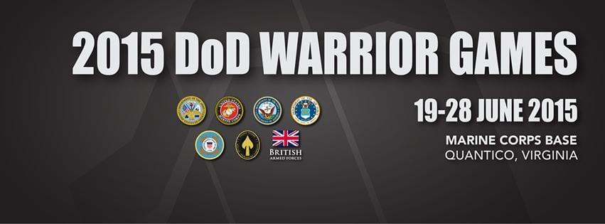 warrior games flyer