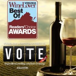 Virginia Wine Lovers Vote 2016