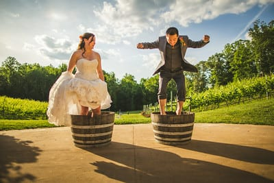 To grape stomp or not to grape stomp? | Potomac Point Winery
