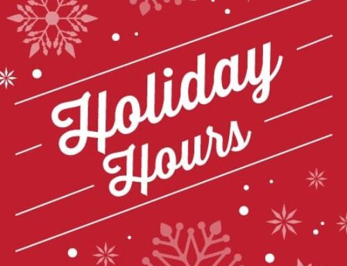 Holiday Hours 2021-2022