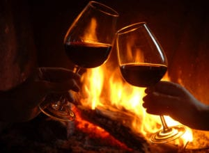wine-by-fireplace