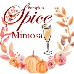 pumpkin spice mimosa