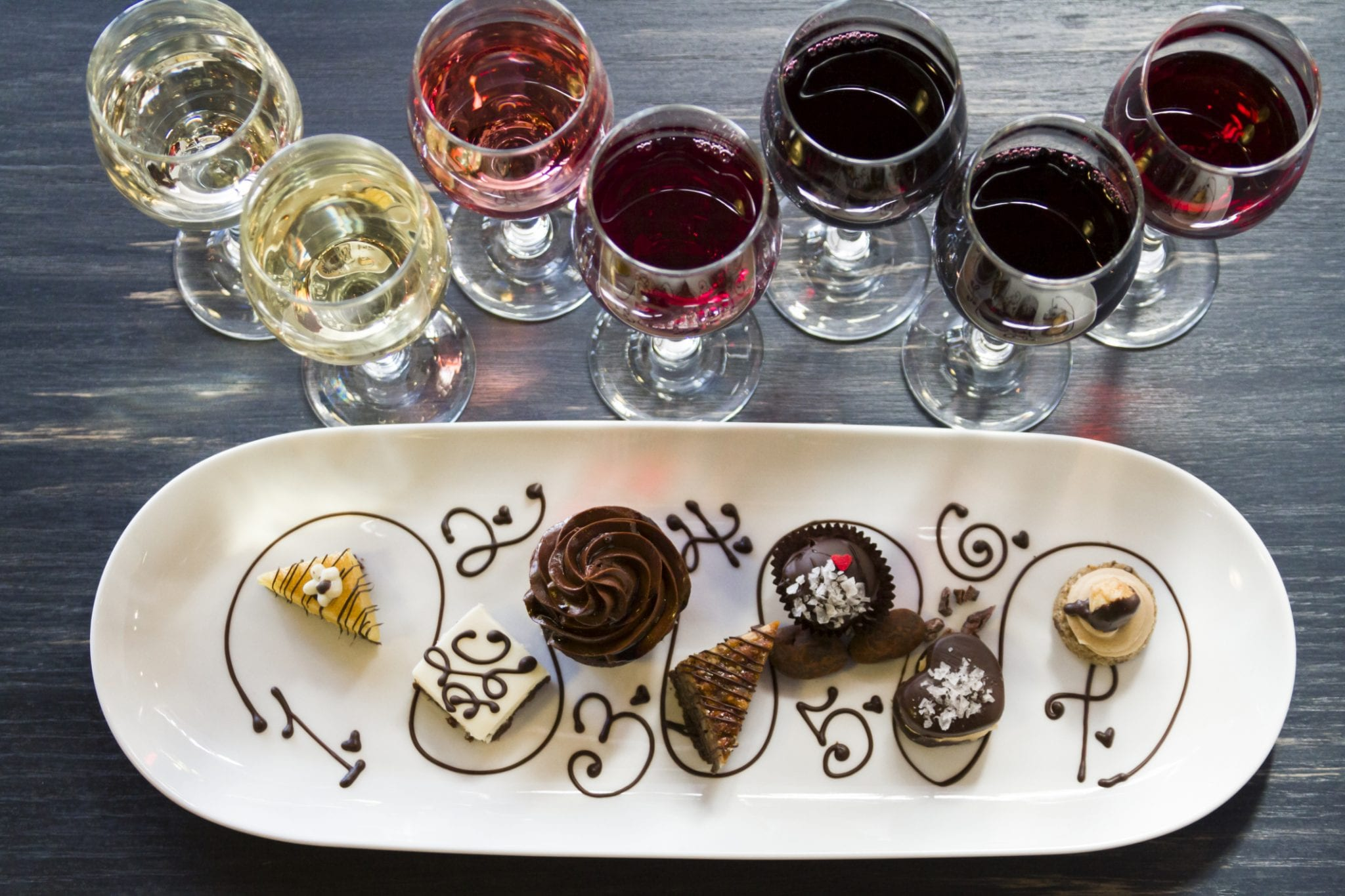 Sinfully Sweet: Dessert & Wine Pairing | Potomac Point Winery