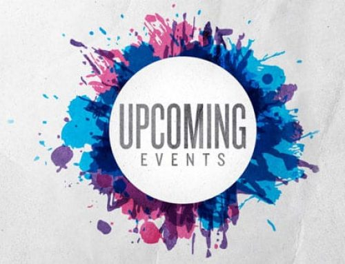 Upcoming Spring Events 2019