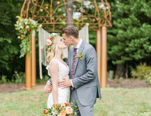 Summer Winery Wedding with Boho Vibes