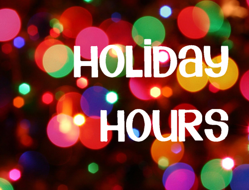 Winery Holiday Hours