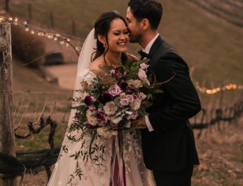 Dark & Moody Winter Wedding Inspiration