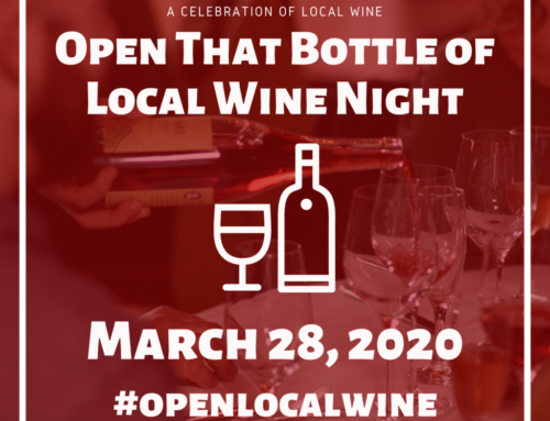 Open that Bottle of Local Wine Night