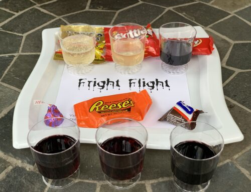 Fright Flights: Candy & Wine Pairing