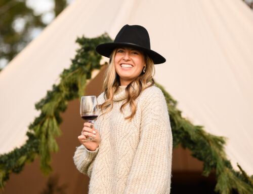 Winter Wine Tents