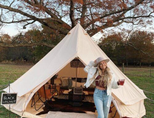 Winter Wine Tents